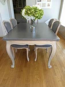 Peindre Au Passé Simple : table louis xv relook e decor 39 in id es conseils ~ Melissatoandfro.com Idées de Décoration