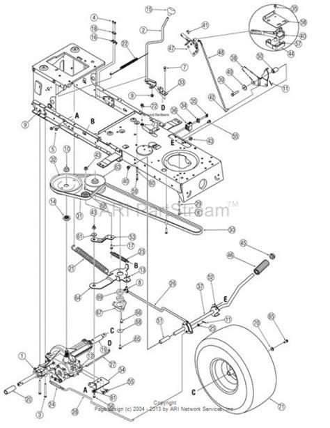 mtd yard machines drive belt jumped  pulley
