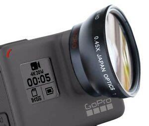 ultra wide angle macro lens gopro hero circular