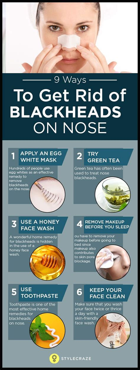 how to get rid of blackheads on the nose fast 9 ways
