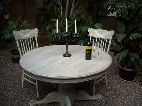 french country shabby chic refinished  oak table