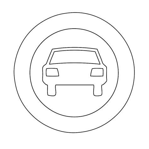 Verkeersborden Kleurplaat by Leuk Voor Verboden Voor Voertuigen Met Meer Dan 2