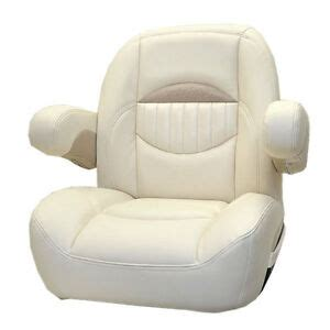 Non Reclining Seat by Sweetwater Napa Vinyl Non Reclining Pontoon Boat Captains
