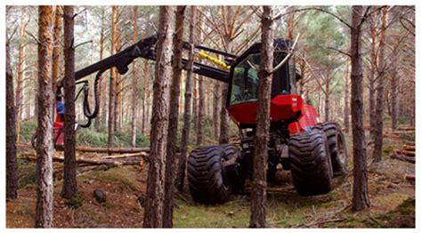 Máquinas Para La Tala De árboles O La Recolección De