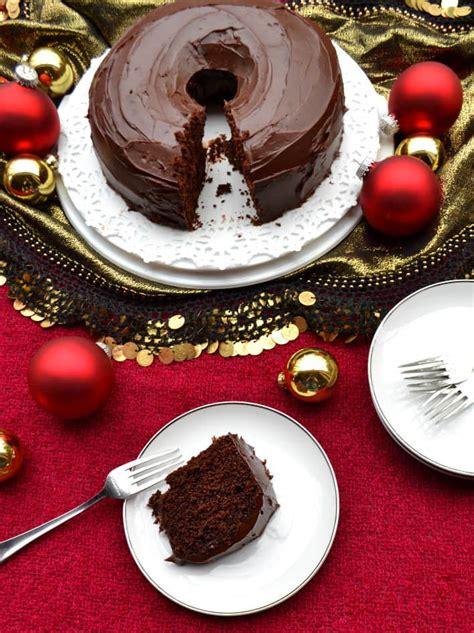 mexican chocolate cake ganache nestleholiday