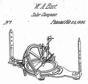 1836 Solar Compass Patent