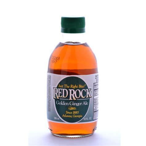 Red Rock Golden Ginger Ale, 10 Ounce Bottles