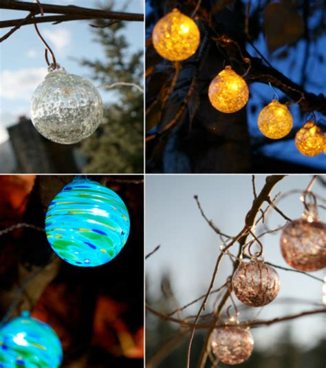 glow solar string lights contemporary outdoor