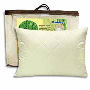 amazoncom bamboo filled pillow throw pillows With bamboo filled pillows