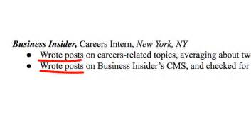 the most common resume mistakes business insider