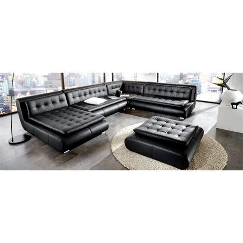 canape d angle en u canapé d 39 angle panoramique en cuir design pop design fr
