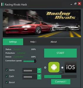 Technologyhack  Racing Rivals Hack Cheat Updated Version