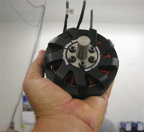 Drone electric motor - 80xx Series - NEUMOTORS - 5 kW...10 ...