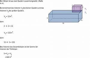 Volumen Quader Berechnen : volumenberechnung bettermarks ~ Themetempest.com Abrechnung