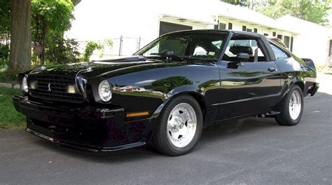 1978 Ford Mustang King Cobra For Sale by Black 1978 Ford Mustang Ii King Cobra Hatchback