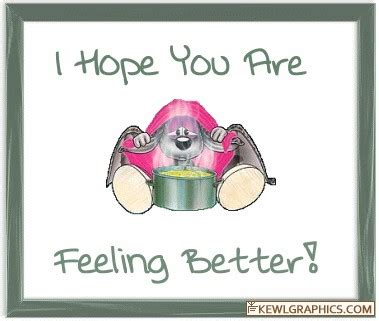 I Hope You Feel Better Sick Mouse Facebook Graphic, Forum