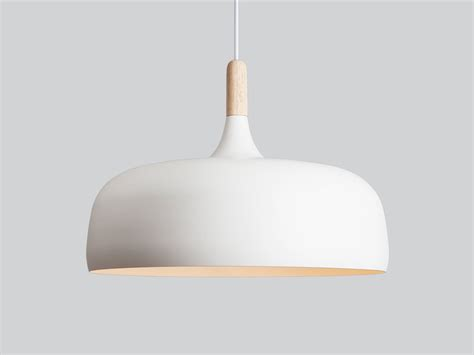light fixtures for kitchen islands buy the northern acorn pendant light white at nest co uk