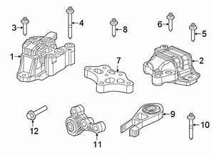 Jeep Compass Engine Mount  Front   Compass  Right  Manual