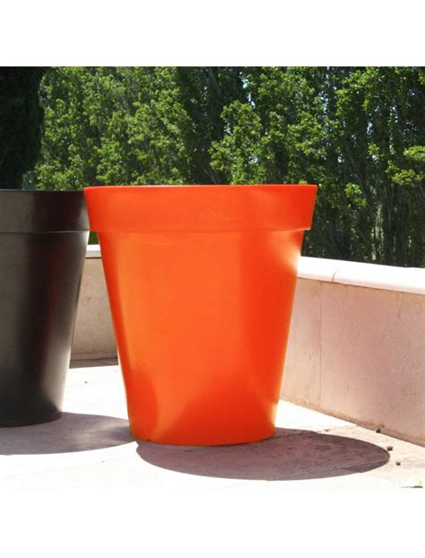pot coco orange mood by ace bac plastique et rotomoul 233