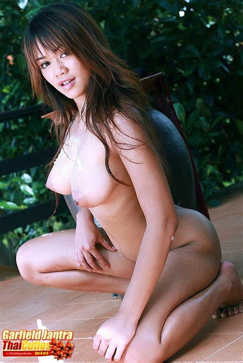 Thai Hottie Garfield Jantra Showing Her Naked Body 1 Of 1