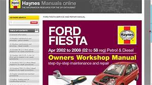 Haynes Manuals Online Tutorial Mp4