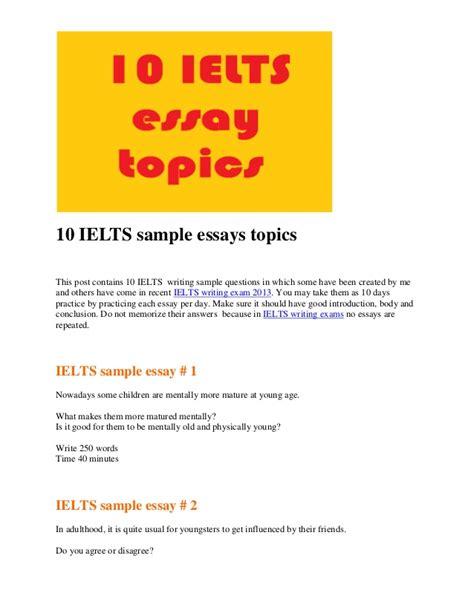 ielts writing task  topics