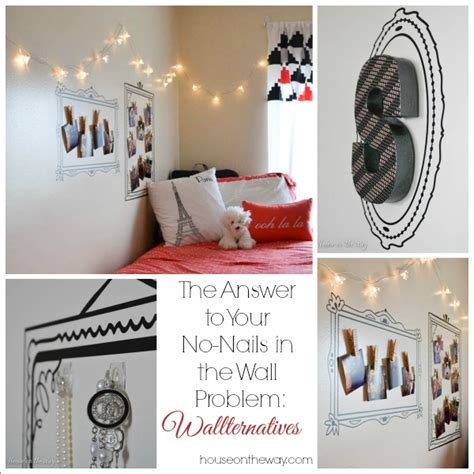 wall decals    nails   wall problem hometalk