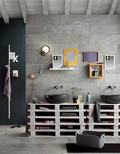 Salle De Bain Idée Déco : 1 salle de bains 6 id es qu on adore elle d coration ~ Dailycaller-alerts.com Idées de Décoration