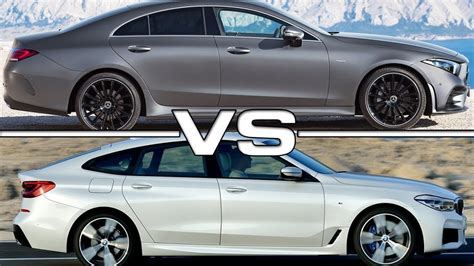 2019 Mercedes Cls Vs 2018 Bmw 6 Series Gt Youtube