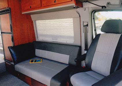 sportsmobile custom camper vans seats beds