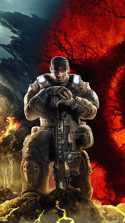 Gears Marcus Fenix War Wallpapers Android 4k