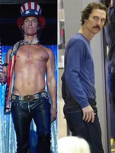 matthew mcconaughey 39 s shocking weight loss and other
