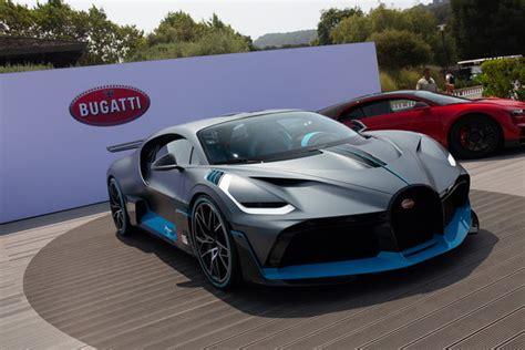 New Bugatti Supercar by Bugatti Bugatti Divo Monterey Car Week Pebble