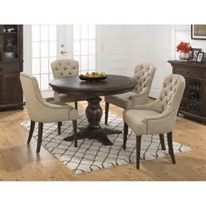 kitchen islands that seat 4 geneva to oval 5 dining set with upholstered side chairs 678 60b 678 60t