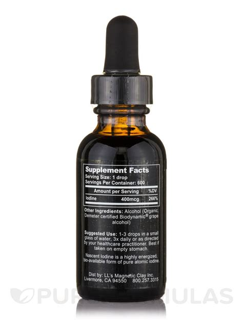 Nascent Iodine - 1 fl. oz (30 ml)