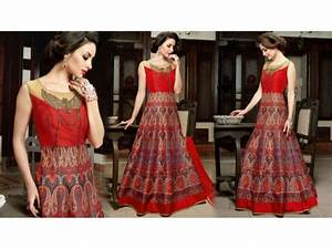 Womens Indo Western Designer Party Wear Long Gowns: Girls ...