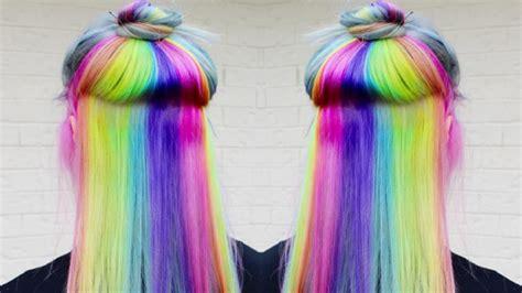 Colour Hair by Rainbow Hair 30 Rainbow Hair Color Inspirations