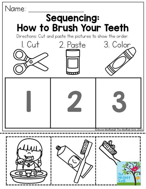 january learning resources with no prep dental health