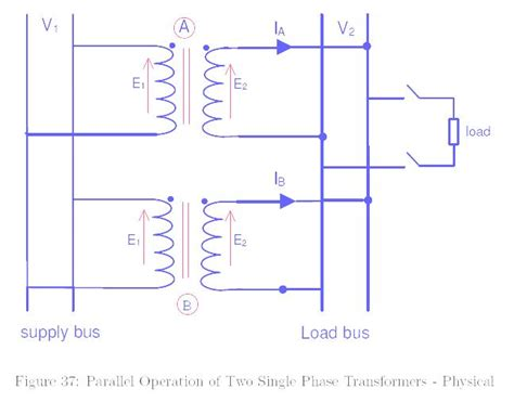 Parallel Operation Transformer The Electrical Portal