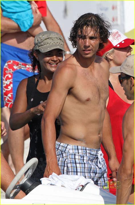 Rafael Nadal Shirtless Sports Wallpapers