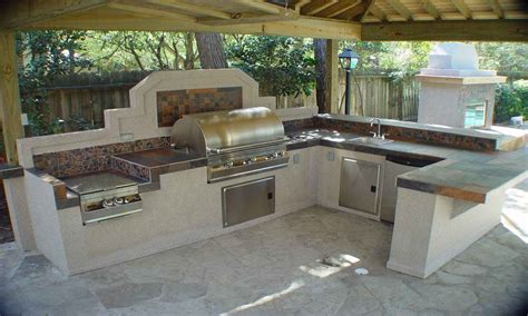 outdoor kitchen designs plans outdoor kitchens image to u 3853