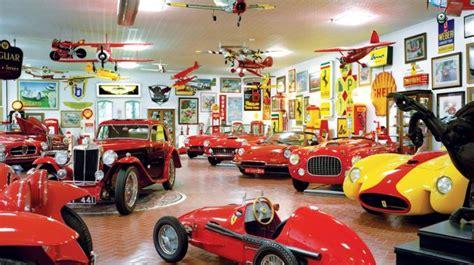 collectors car garage vintage car collection classic european car collection