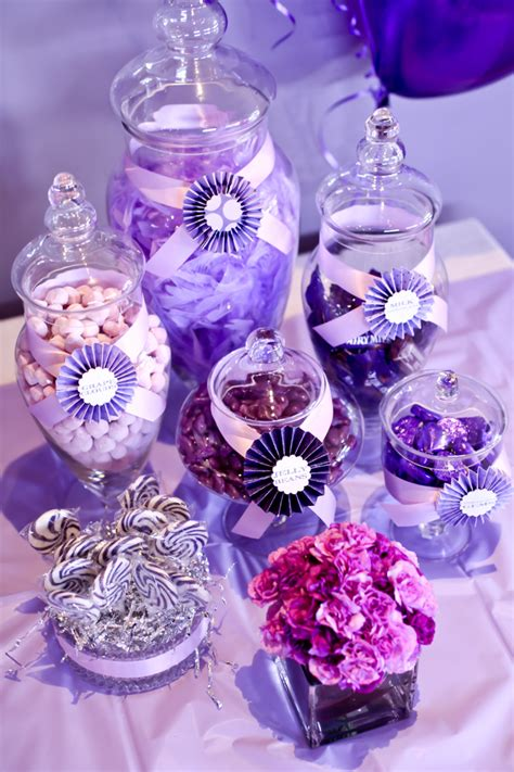Little Big Company  The Blog Purple Themed Party By The