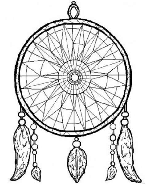images  dreamcatcher coloring pages