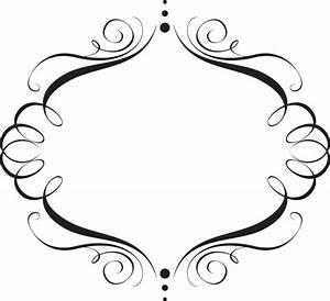 Oval Frame On White Elegant Tattoo - Cliparts.co