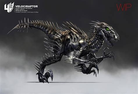 Transformers: Age Of Extinction Concept Art Shows Off