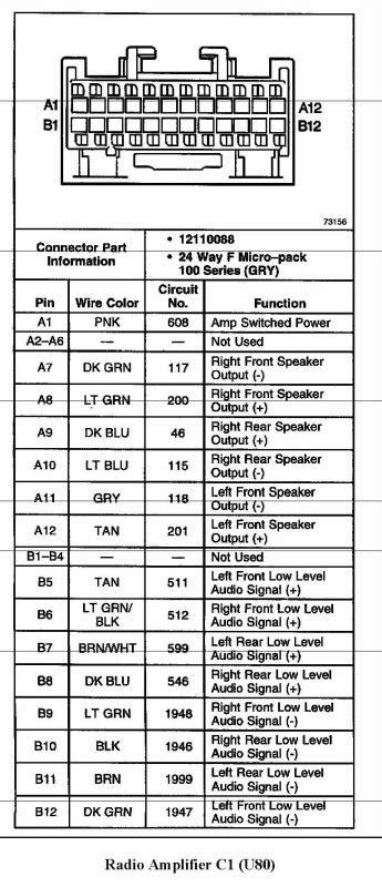 2000 Gmc Wiring Diagram by 2000 Ssei Bose Wiring Diagram Gm Forum Buick