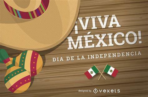 Dia De La Independencia Mexico Design - Vector Download