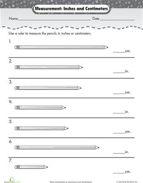 best 25 measurement worksheets ideas on