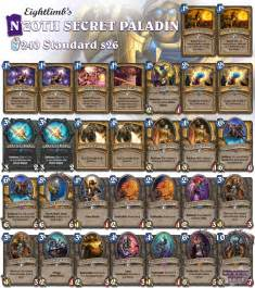 secret paladin the rebirth hearthstone decks